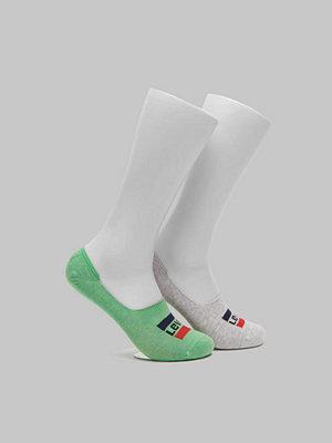 Strumpor - Levi's 2-pack Sportwear Logo Low Rise 327 Green