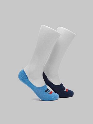 Strumpor - Levi's 2-pack Sportwear Logo Low Rise 056 Blue