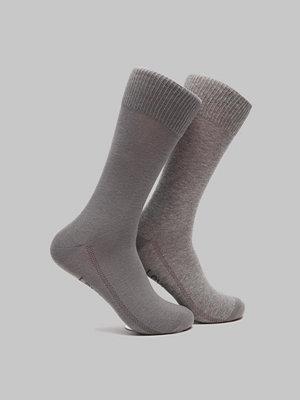 Strumpor - Levi's 2-pack Reg Cut Sock 758 Grey