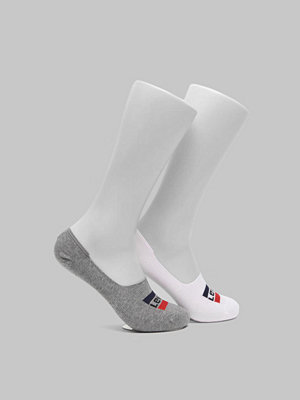Strumpor - Levi's 2-pack Sportwear Logo Low Rise 062 White/Grey