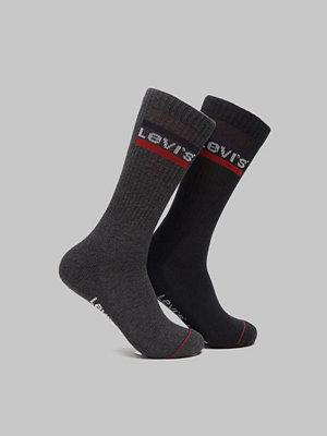 Strumpor - Levi's 2-pack Sportwear Logo Reg Cut 267 Black