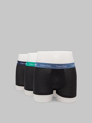 Kalsonger - Calvin Klein Underwear 3-pack Lowrise Trunk Blue/Indigo