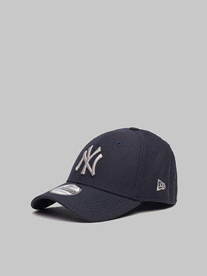 Kepsar - New Era 39Thirty Diamond NY Yankees Navy/Gray