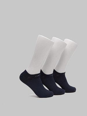 Strumpor - Calvin Klein Underwear CK 3-pack Coolmax Liner 41 Navy