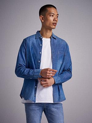 Skjortor - Replay RBJ Denim Shirt Blue