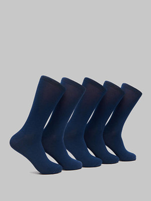 Frank Dandy 5-pack Invisible Bamboo Socks  Dark Navy