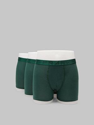 Frank Dandy 3-pack Legend Organic Boxer Dark Green