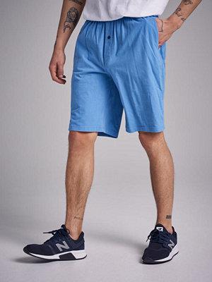 Shorts & kortbyxor - Gant Jersey Pajama Shorts 437 Mid blue