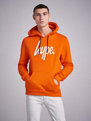 Street & luvtröjor - Hype Script Overhead Hoodie Orange