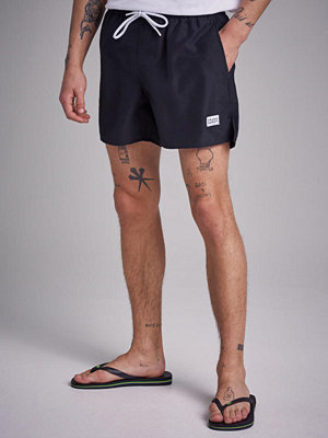 Badkläder - Frank Dandy Breeze Risky Rose Swim Shorts Black
