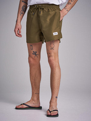 Badkläder - Frank Dandy Breeze Long Swim Shorts Military