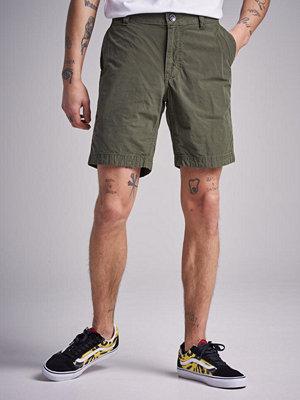 Shorts & kortbyxor - Sail Racing Grinder Check Chino Shorts Military Green