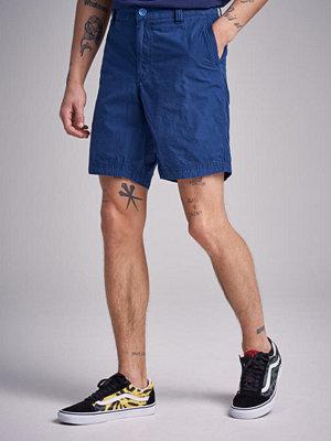 Shorts & kortbyxor - Sail Racing Grinder Check Chino Shorts Storm Blue