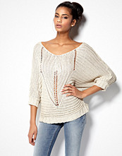 Mixed from Italy V-neck Crochet Knit