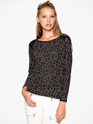 Only Leopard L/S Pullover