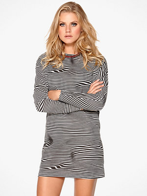 Cheap Monday Assy Stripe Dress Liquid