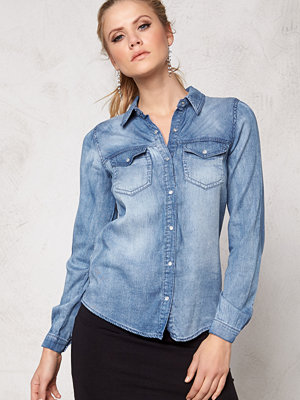 Vila Bista Denim Shirt