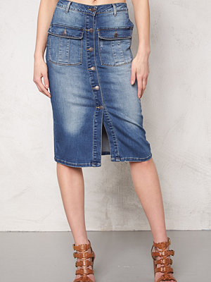 Object Seven Denim Skirt