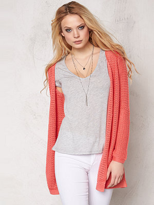 Only Sia l/s open cardigan