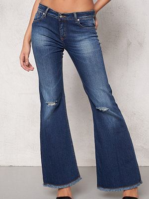 d.brand Flair Denim Blue Jeans
