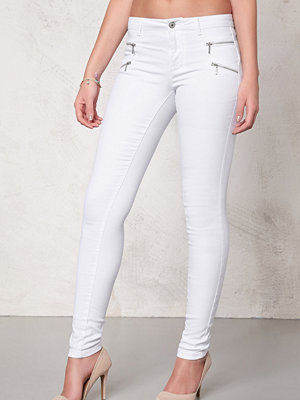 Only Royal skinny zip jeans