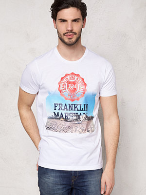 T-shirts - Franklin & Marshall Tshirt Jersey Round