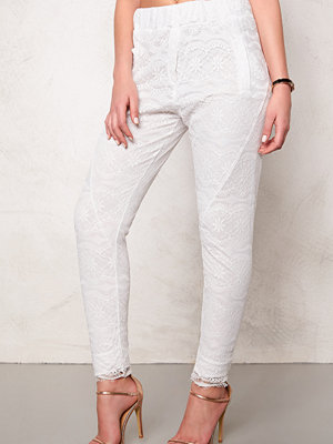 2nd One vita byxor Miley 070 Pants