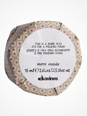 Hårprodukter - Davines Davines More Inside Shine Wax (75 ml)