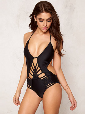 Baddräkter - Hot Anatomy Multi Strapped Swimsuit