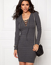 Only Rikki L/S Lace Up Dress