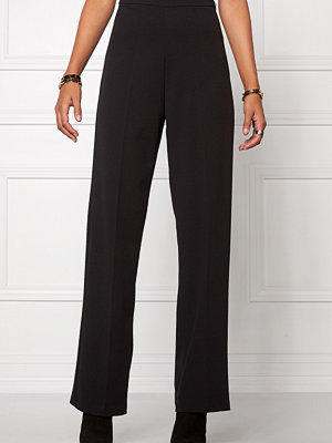 Chiara Forthi svarta byxor Highrise Stretch Trousers