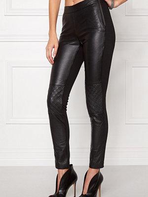 Object Jasmin Leather Leggings