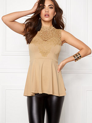 Bubbleroom Tamale peplum top
