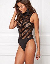 Mixed from Italy Lace Highneck Bodysuit