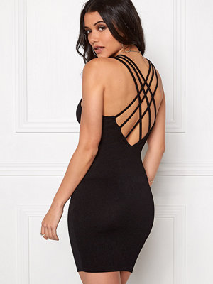 Club L Criss Cross Crepe Detail