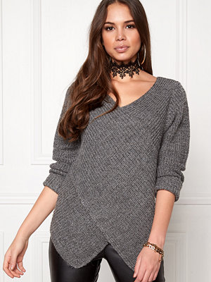 Vila Match Wrap Knit Top