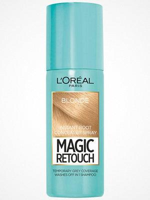 Hårprodukter - L'Oréal Paris Loreal Magic Retouch Instant Root Concealer Spray - Blonde