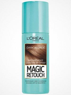 Hårprodukter - L'Oréal Paris Loreal Magic Retouch Instant Root Concealer Spray - Dark Blonde