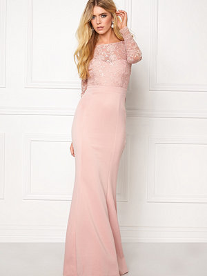 Goddiva Open Back Lace Dress
