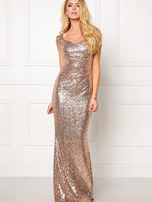 Goddiva Sequin Maxi Dress
