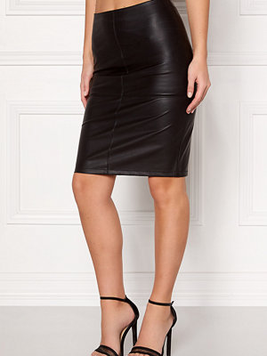 Kjolar - Only Ticket Faux Leather Skirt