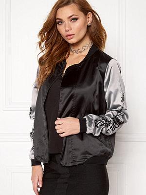 Rut & Circle Cindy Print Bomber Jacket