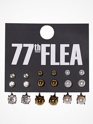 77thFLEA Multi Earrings set Örhänge