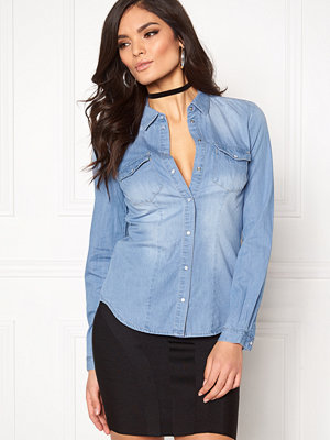 Skjortor - Only Rock It Fit Denim Shirt
