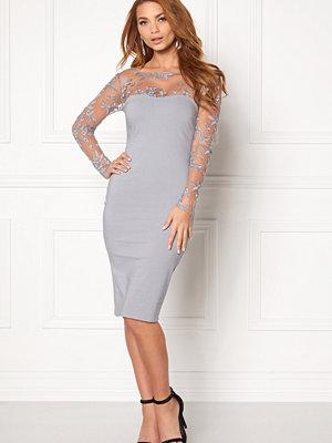 Goddiva Mesh Midi Dress