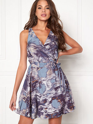 Dagmar Violet Wrap Dress