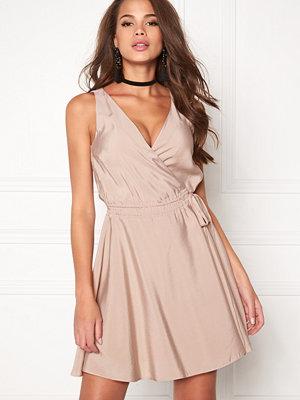 Dagmar Violet Wrap Dress