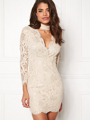 Ax Paris Lace Choker Bodycon Dress
