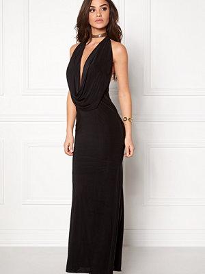 Goddiva Cowl Neck Maxi Dress