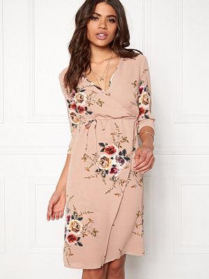 Girl In Mind Wrap around Dress